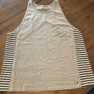 Under Armour racer back tank top size XL